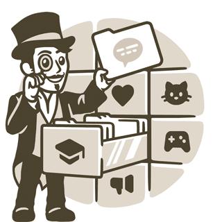 Управление вкладками в Telegram